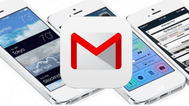 Gmail on iPhone