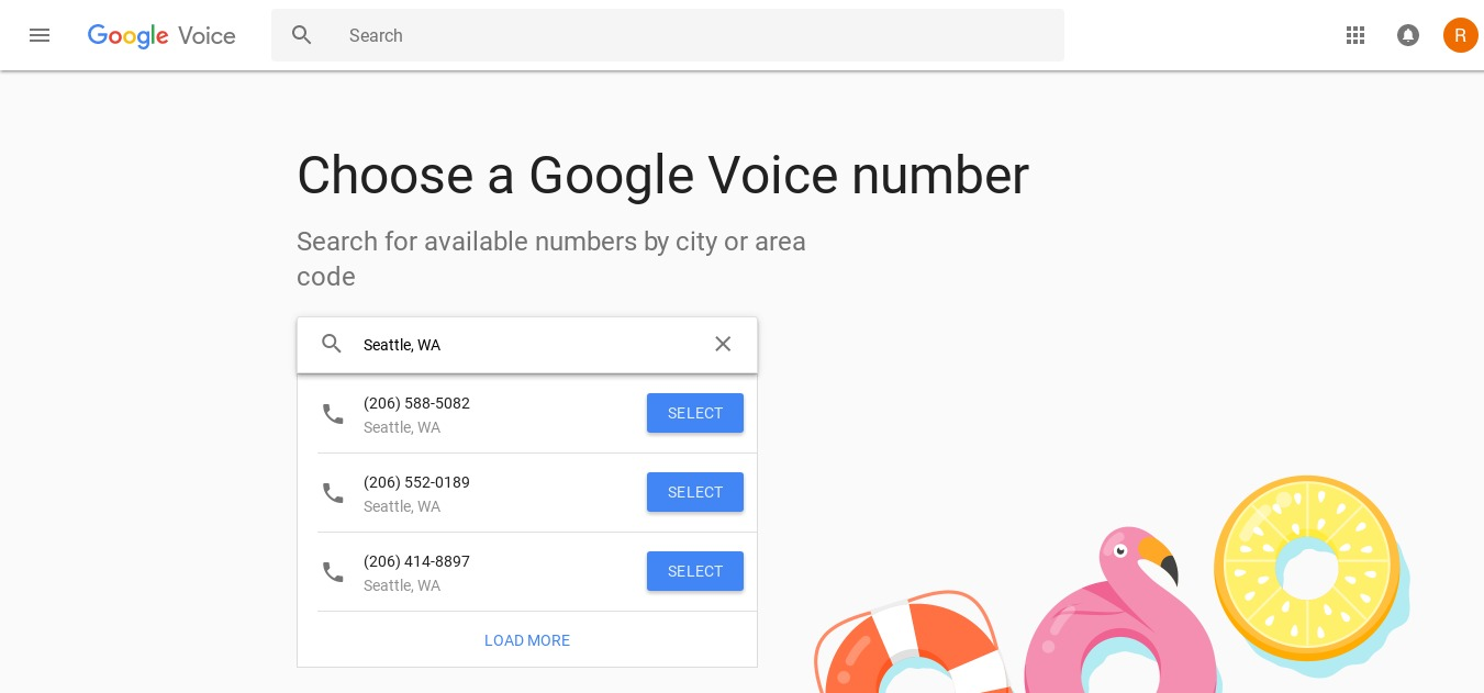 Google Voice Signup