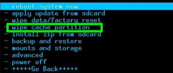 Wipe Cache Partition On Android