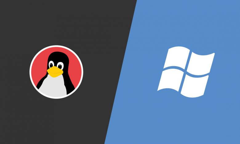 لینوکس در مقابل ویندوز