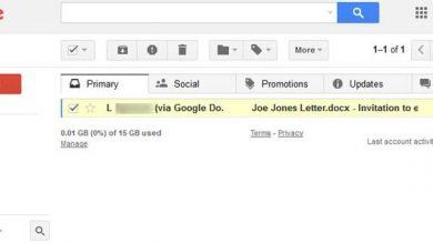 برای انتخاب ایمیل، روی کادر تأیید کنار آن کلیک کنید.