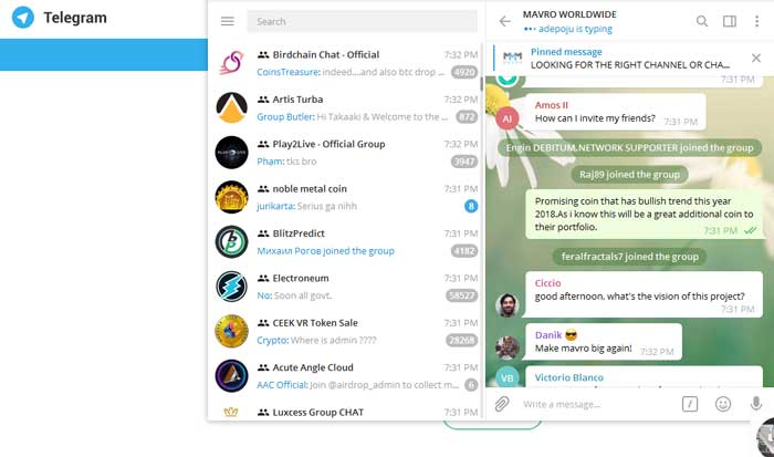 نظردهی در کانال تلگرام