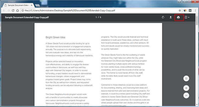 how do you create a pdf file