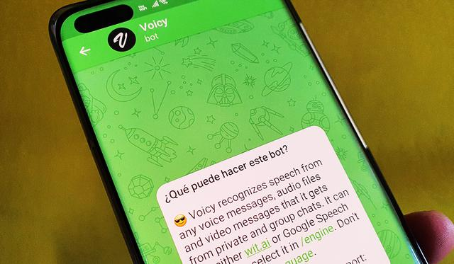 Voicy is the Telegram bot that allows you to quickly transcribe your audio messages to text. (Photo: MAG)