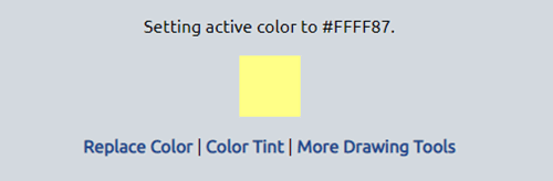 Follow these steps to replace particular color in image online