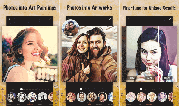 The image cartoonizer app helps you to add awesome cartoon animation filters and even art blending filters along with cartoon & sketch Art effects.