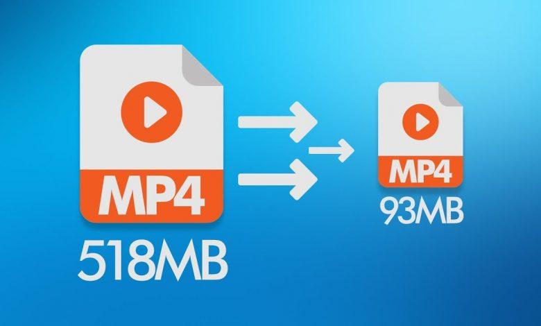 کاهش حجم ویدیو