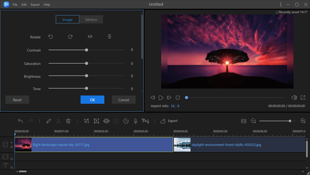 Edit GIF for color correction