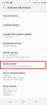 how to get developer options on android enable screenshot 03