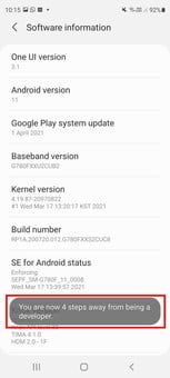 how to get developer options on android enable screenshot 04