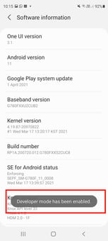 how to get developer options on android enable screenshot 05