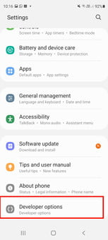 how to get developer options on android enable screenshot 06