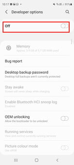 how to get developer options on android enable screenshot 08