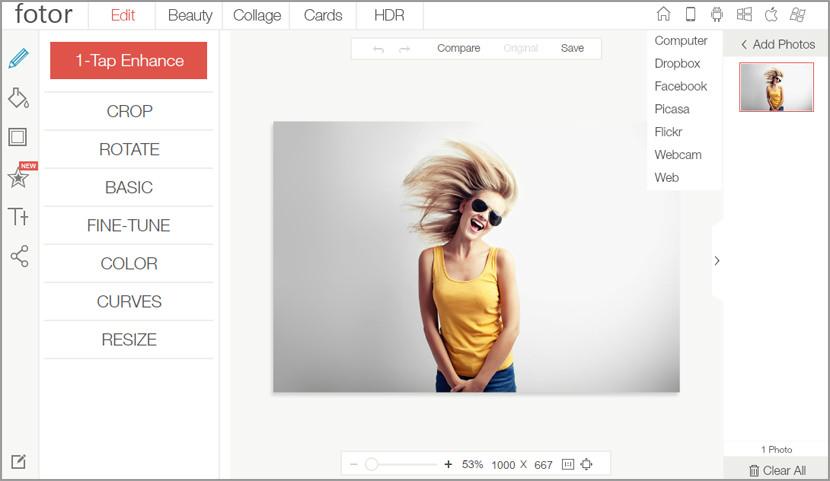 online photo editor Free Online Photo Editor Alternative on iPad Tablet For Adobe Photoshop CS User