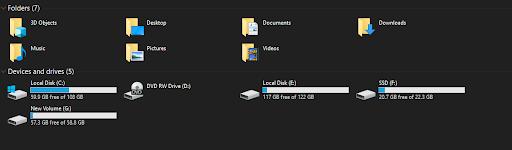 SD card formatting on Windows 10
