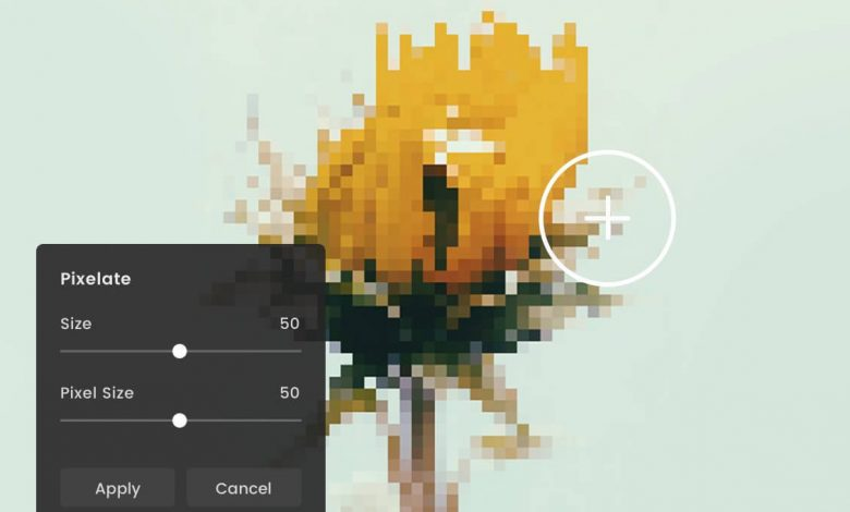 Simpleto Pixelate Image