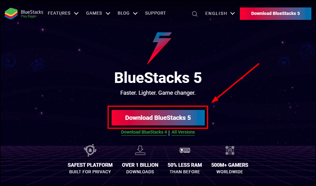 download bluestacks 5 mrnoob